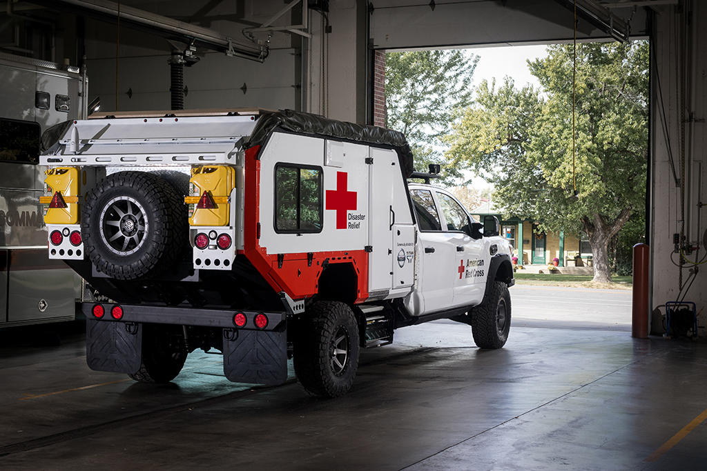 2018 Nissan Titan: Nissan Donates a Purpose-Built Titan to American Red Cross featured image large thumb4