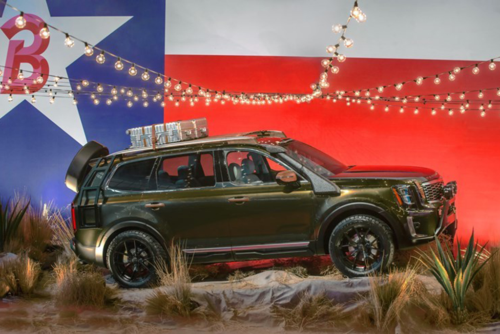 The 2020 Kia Telluride SUV is Unveiled During New York Fashion Week featured image large thumb0
