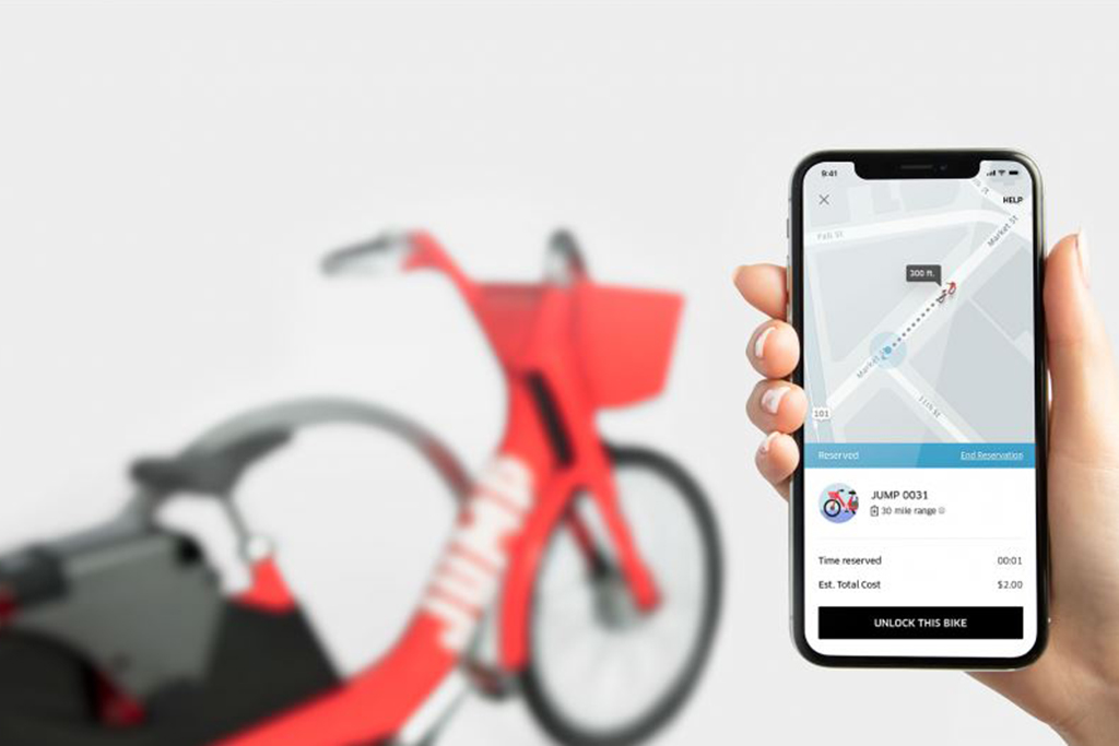 Uber Bike Electric Bicycle Rental Service Is a New Alternative to Car Ownership featured image large thumb0